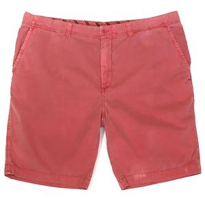 Daniel Cremieux Weathered Red Casual Shorts